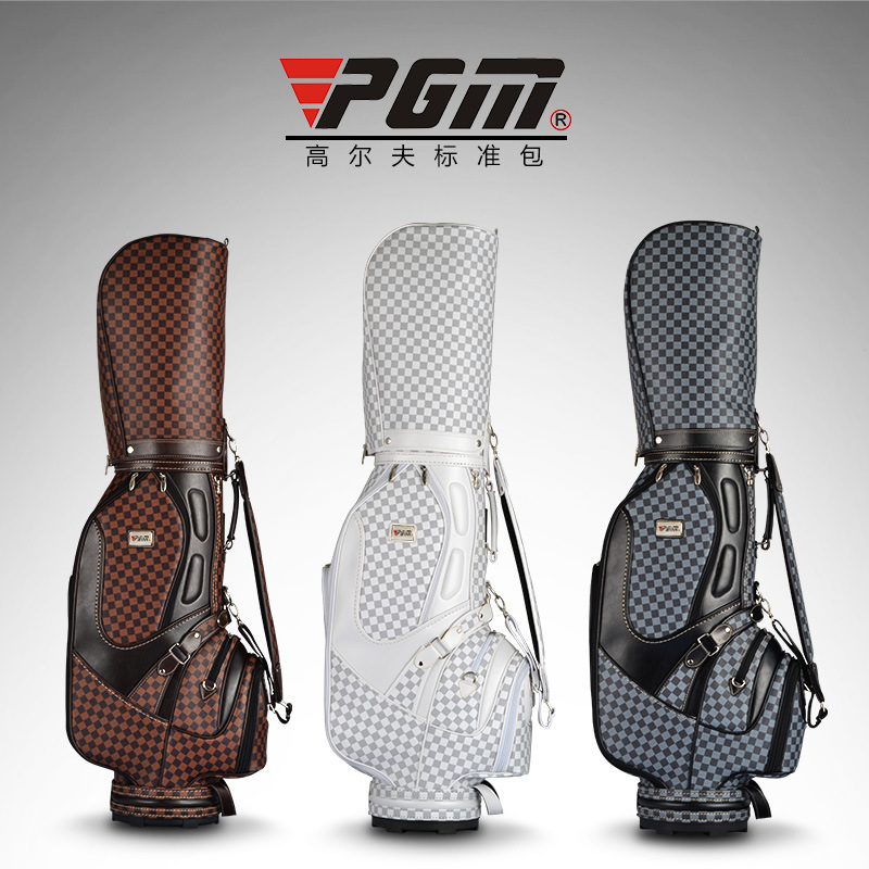 2017 New Hot Top British Style Men Golf Club Bags Aristocratic Bag Fashion Pu Cart In From Sports