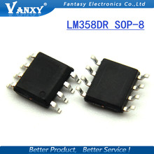100 PCS SMD LM358DR2G LM358DR LM358DT LM358 SOP SOP8 IC novo e original frete grátis