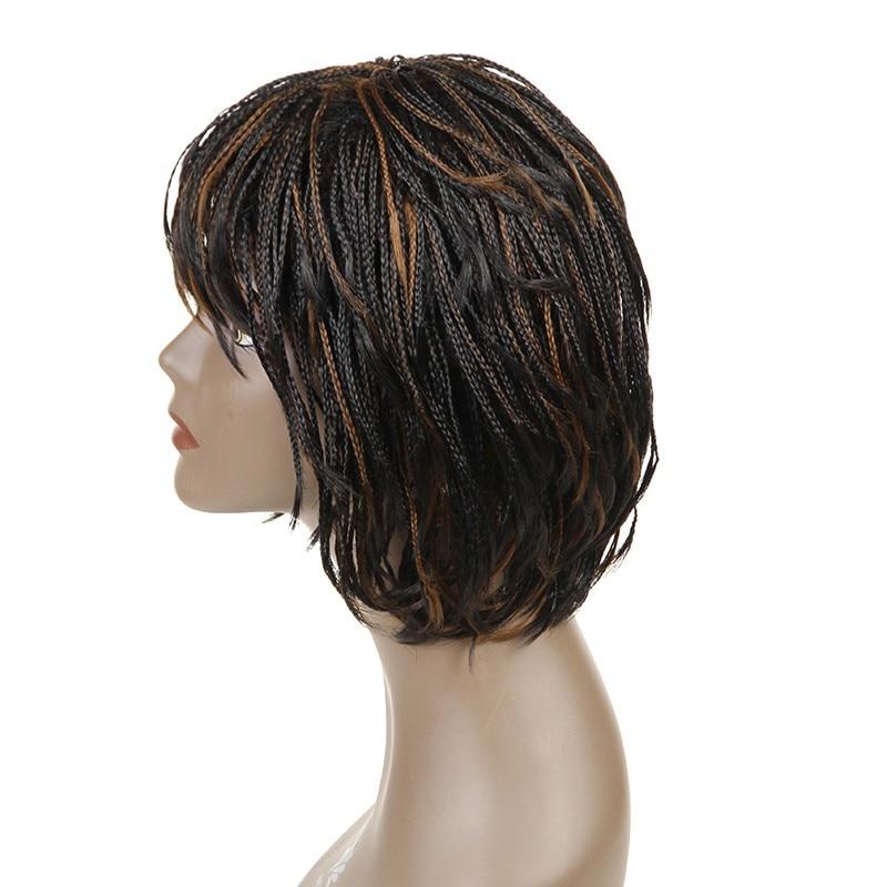 Feibin Box Crochet Braiding Hair Wig Afrikansk Syntetisk Senegalese - Syntetiskt hår - Foto 2