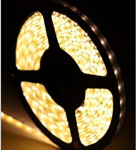 $10 off per $300 order Waterproof SMD 3528 Epoxy LED Strip Light 300LED 5M 12V Warm White For Christmas