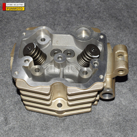 CYLINDER HEAD AND VALVES OF LONCIN 200 ATV ENGINE MODEL WATER COOLING