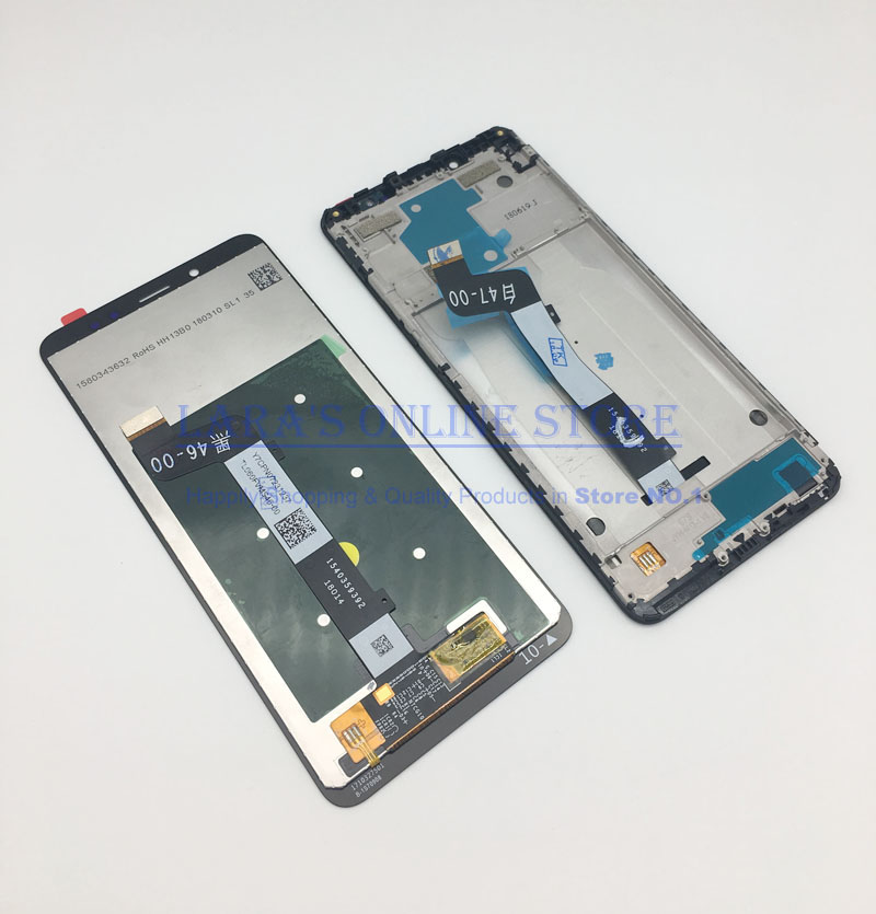 Original for Xiaomi <font><b>Redmi</b></font> <font><b>Note</b></font> <font><b>5</b></font> <font><b>Pro</b></font> <font><b>LCD</b></font> Display Touch Screen Digitizer with Frame <font><b>Redmi</b></font> <font><b>Note</b></font> <font><b>5</b></font> <font><b>LCD</b></font> Display Assembly Repair Part image