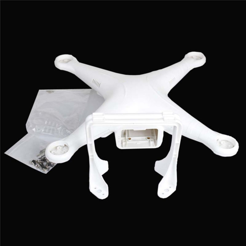 (Not Original) Spare Parts For DJI Phantom 2 Standard Body Shell Housing Cover Quadcopter Upper Lower cover with Landing Gear extra spare h101 008 upper body shell for floureon h101 remote control quadcopter