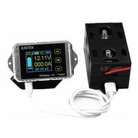 120 v 100a 무선 양방향 전압 전류 lcd 디스플레이 측정 전압 전류 전압계 전류계 전력계 vat-1100