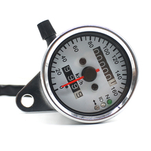 WUPP Motorcycle Meter Speedometer Odometer Gauge Turn Signal Headlight LCD Screen Indicator Vintage Aluminum alloy Accessory