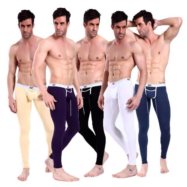 Men's Underwear Fashion WJ Male Sexy Long Johns Warm Pants 2008CK