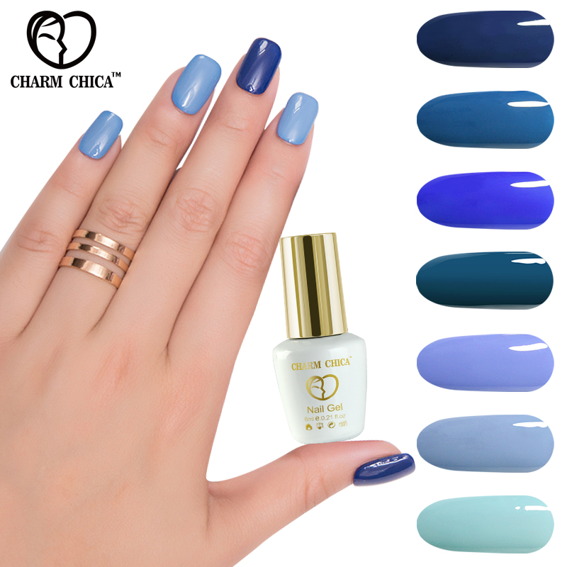 CHARM CHICA 6ml Semi Permanent gel nail polish uv gel soak
