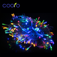 Led Garland String Curtain Light 30M 200LEDs Christmas Wedding Garden Party Decoration With DC31V Safety Waterproof