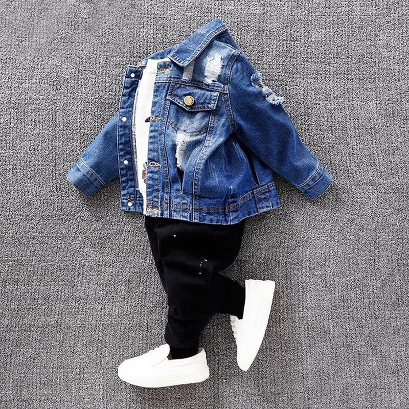Nové jaro podzim děti kabát holčičky a chlapci bunda módní - Dětské oblečení