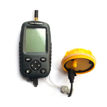 New FF998 Fish finder Waterpoof Wireless Fishfinder Sensor 125KHz Sonar Echo Sounder Upgrade English/Russian menu Rechargeable