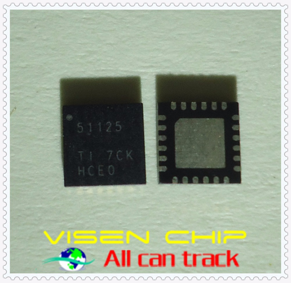 """20pcs TPS51125  51125  QFN  With the Out - of - AudioT operation and 100 ma """"two-way synchronous step-down controller"""