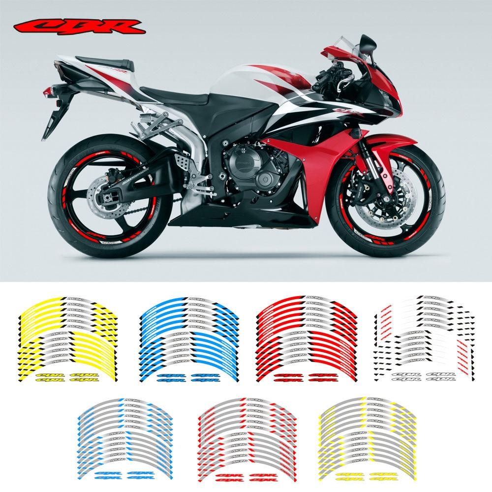 Rim Sticker Motorcycle Rim Sticker Wheel Sticker Honda Cbr600f