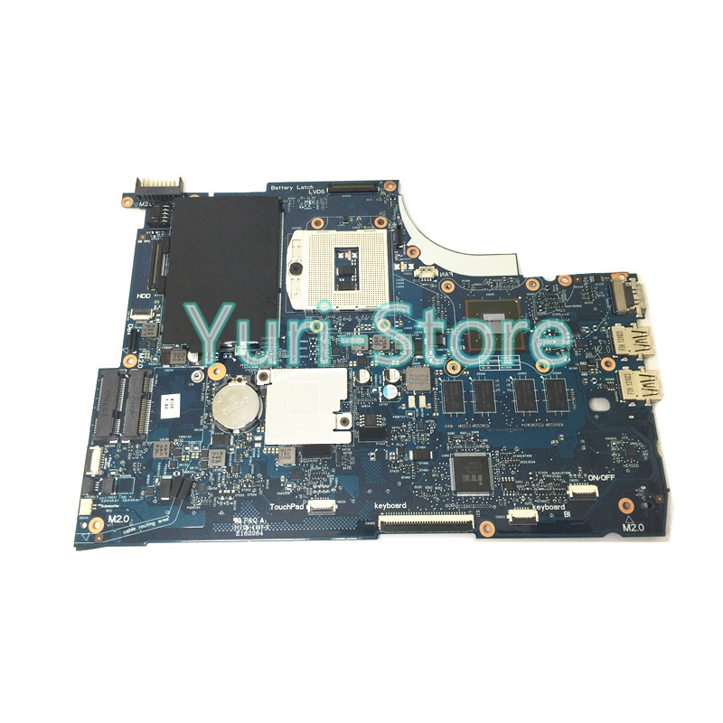 720566-501 720566-001 Laptop motherboard for HP ENVY 15 15T-J000 15T-J100 Motherboard GeForce GT740M 2GB DDR3L gzeele laptop lcd back cover screen for hp for envy 15 15 j 15 j000 15 j100 lcd front bezel cover 720535 001 b shell touch black