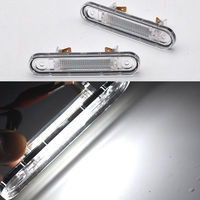 2x Canbus White LED License Plate Light For MERCEDES E W124 1984 1987 W201 W202
