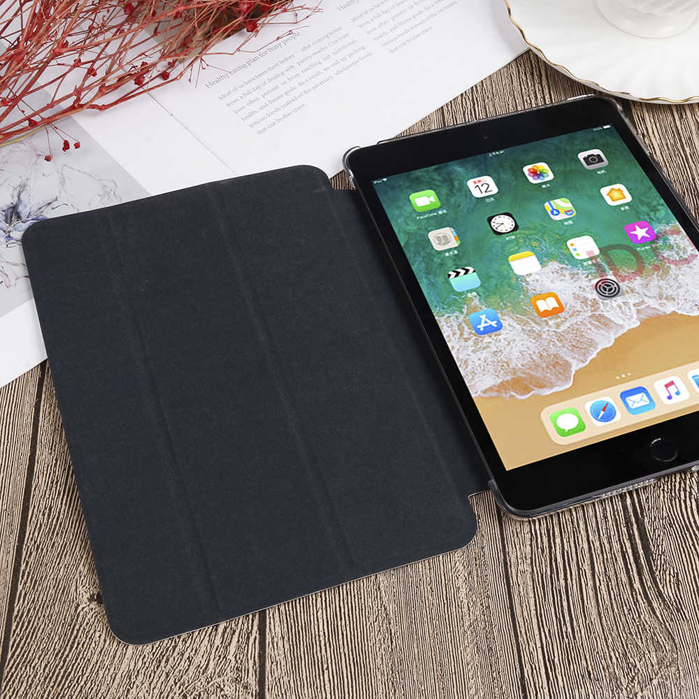 QIJUN Dicat Case untuk Samsung Galaxy Tab A 2019 10.1 Inci T510 T515 SM-T510 10.1 ''PU Leather Flip Stand cover Smart Cover Case