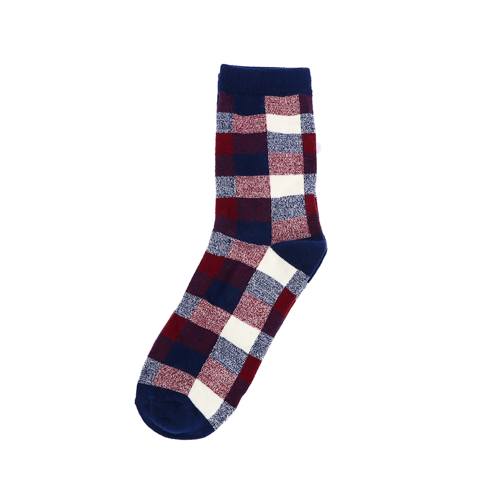 Men's Socks British Style Small Square Leisure Socks Tidde Tube Socks Charm Women Men Sport Socks