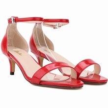 Frauen Pumps High Heels Schuhe 7 CM Mode Bonbonfarben Anstrich Rote Untere Für Partei Und Hochzeit