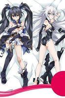 Japan Anime Hugging Body Pillow Case qf 150*50 Hyperdimension Neptunia Noire Cute
