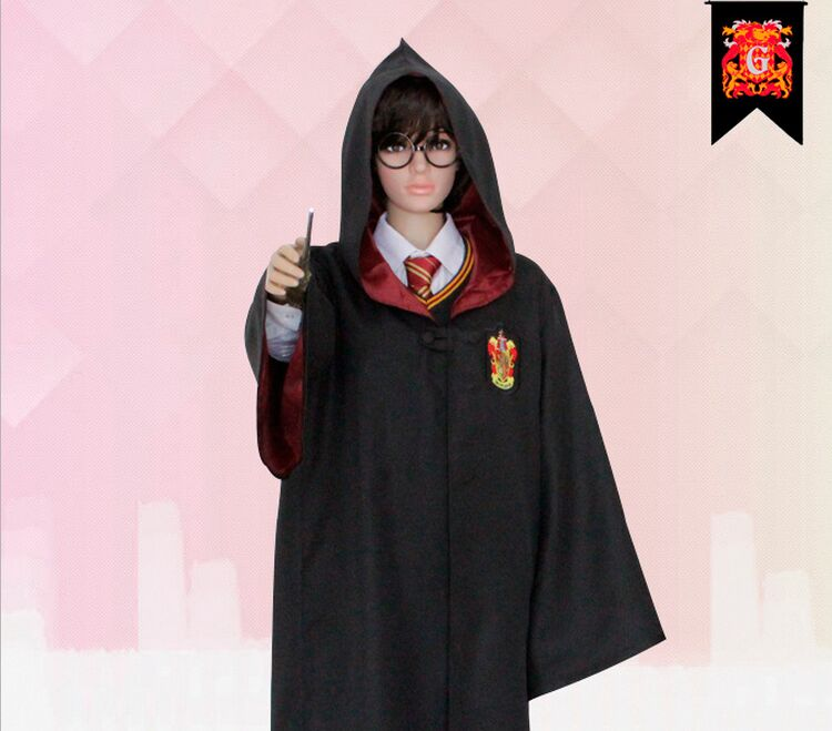 Children and Adult Harry Potter COSPLAY Uniform Magic Gown ... 32ef1d1f664b