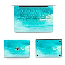 Hot Sale Laptop Skin Vinyl Decal Top Bottom Keyboard Full Colorful Painting Sticker For Macbook Air Retina Pro Notebook Sticker