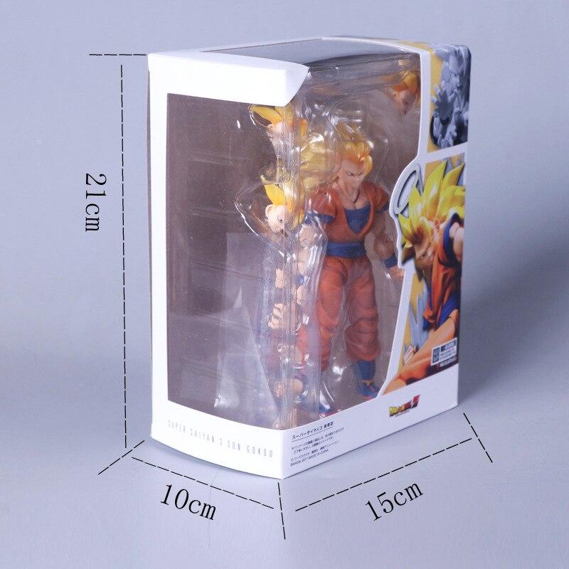 SHF S.H.Figuarts Dragon Ball Z Super Saiyan 3 Son Goku PVC Action Figure Gift