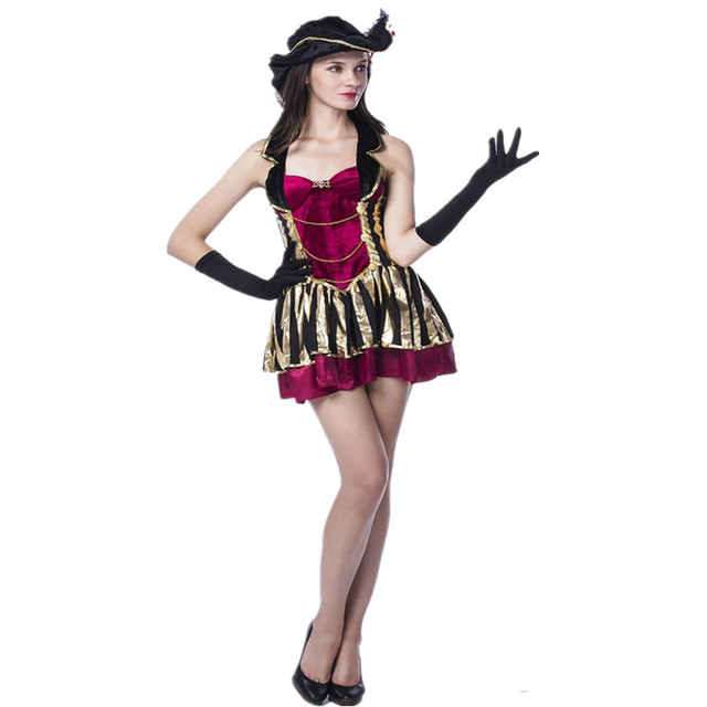 Halloween Women Adults Pirate Costumes Girls Knight pirate costume cosplay costumes  sc 1 st  AliExpress.com & Halloween Women Adults Pirate Costumes Girls Knight pirate costume ...