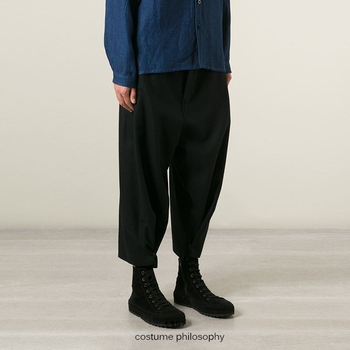 27-44! 2018  The new size of a large autumn and winter male woollen trousers