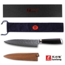 Sunlong Japanese 8 inch Chef Knives VG10 Damascus Steel - Kitchen Knife Cleaver 67 layers Slicing Knives-knife set-cook