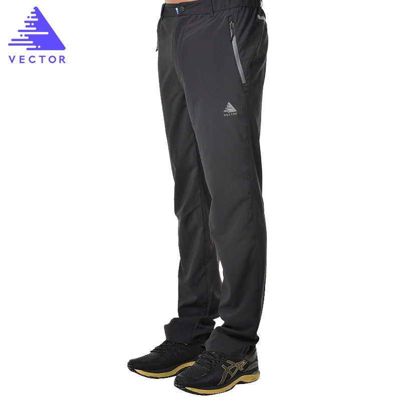ベクトルクイックドライキャンプハイキングパンツ男性女性弾性通気性アウトドアスポーツズボン登山トレッキングランニング 50026