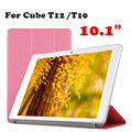 For Cube T10 Original case Protective shell For Cube T12 3G Phone Call 10.1'' Tablet PC Case PU Leather Case Flip Cover