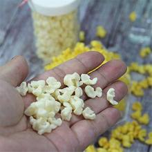 Kids Simulate Popcorn Pretend Play Slime DIY Accessories For Fluffy Slime Foam Slime Lizun Clay Plasticine Baby Educational Toys(China)