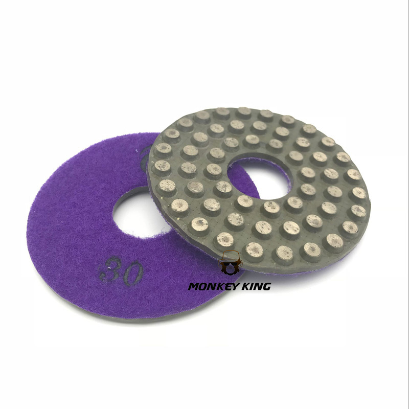 3 inch 4 inch 5 inch 80mm 100mm 125mm Metal Grind Polish Edge Pad Concrete Floor Angle grinder