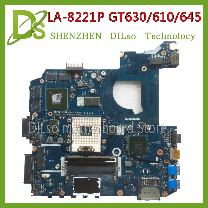 KEFU LA-8221P For ASUS K45VJ K45VD A45V A85V K45VS K45VM motherboard LA-8221P GT630M/610M/645M motherboard Test k45vd val40 la 8226p with i3 cpu gt610m 2gb mainboard for asus a85v a45v k45v k45vm k45vd laptop motherboard free shipping