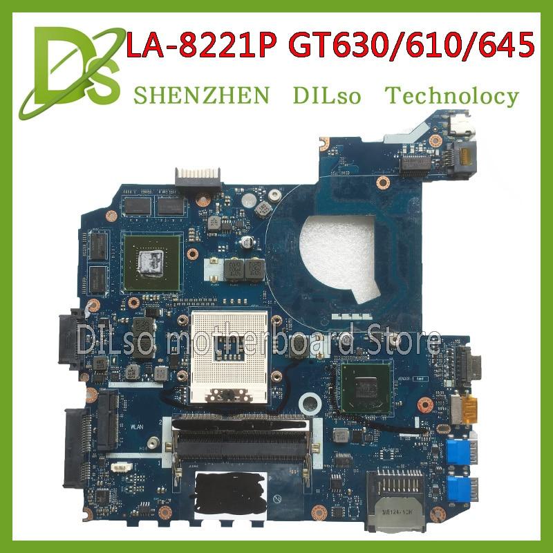 SHUOHU LA-8221P For ASUS K45VJ K45VD A45V A85V K45VS K45VM motherboard LA-8221P GT630M/610M/645M motherboard 100% tested for asus k45n k45 k45ei321vd k45a k45de k45vj k45vm k45vs keyboard