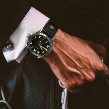 AGELOCER Swiss Automatic Relógios Homens relogio masculino Luminosa Relógio Mecânico Mens Relógio Pulseira de Couro 100 m Resistência À Água