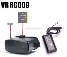 FPV VR RC-009 4.3 Inches 480×272 Video Goggles 5.8G 40CH Raceband Auto-Searching w/ Battery Better than EV800 VR007 RC-007