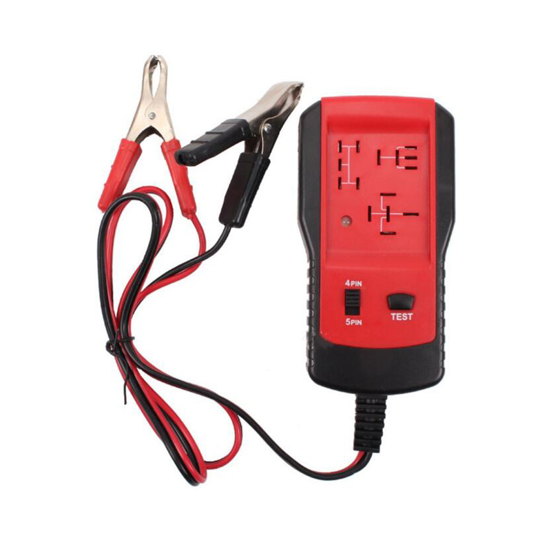 12V Car Relay Tester Automotive Diagnostic Tool Car Accessories Vehicles Auto Relay Battery Volt Tester Portable Tool Vehicles