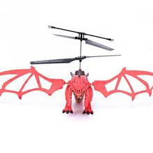 Remote Control Dinosaur Helicopter Flying Dinosaur Mini RC Drone Toys Children Gift