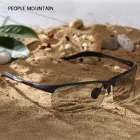 2017 Nova marca óculos de Sol Dos Homens Polarizados Esportes Homens de Cor filme de Condução Óculos de Sol oculos Eyewear Acessórios Atacado