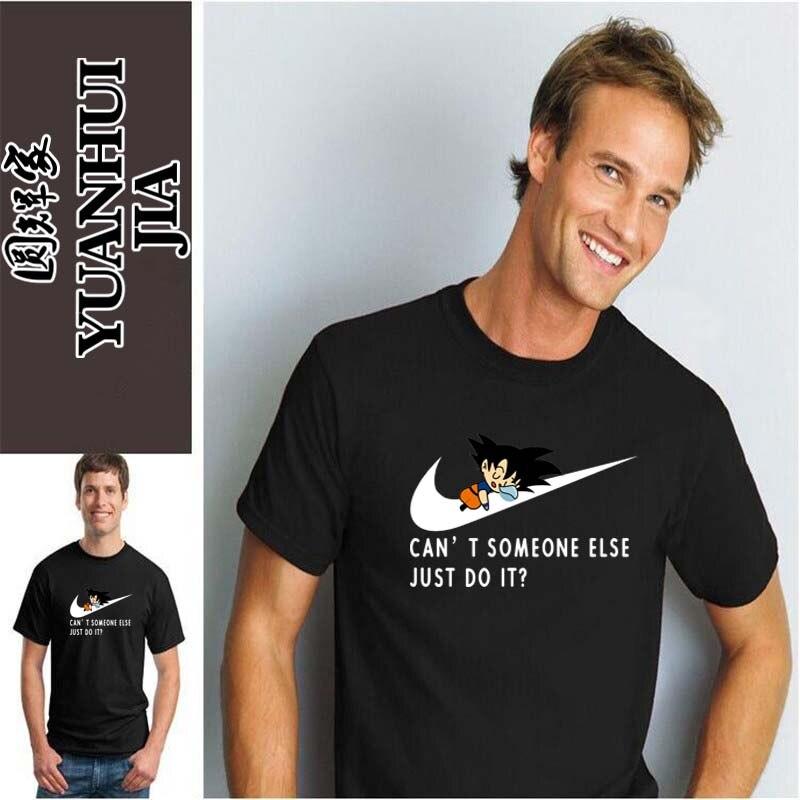 2017 Νέο γράμμα T Shirt Μπλουζάκια Mens dragonball - Ανδρικός ρουχισμός - Φωτογραφία 2
