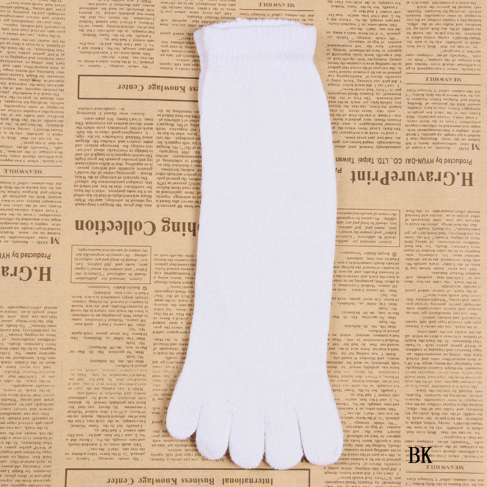 Underwear & Sleepwears Clever Bubabox 2019 New Fashion 1 Pair Autumn Winter Warm Style Unisx Men Women Five Finger Pure Cotton Toe Sock 6 Colors Bright And Translucent In Appearance