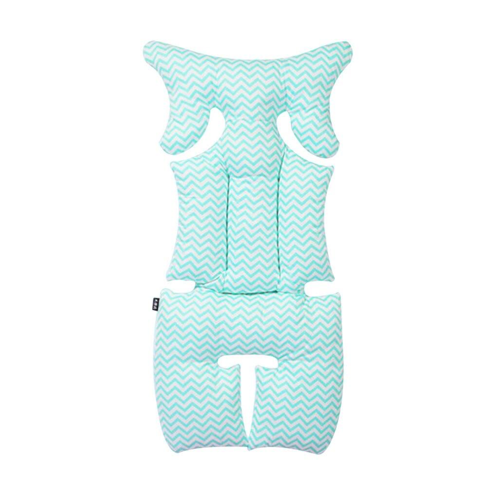 Подушка безопасности детское автомобильное сиденье Подушка для детского сиденья синий розовый хлопок интерьер подушки детский, обеденный стул прочный - Цвет: blue
