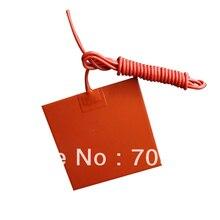200x200 мм 12 В 200 Вт силиконовые грелку/нагреватель с 100 К Термистор для 3D-принтеры кровать