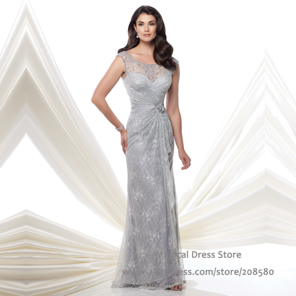 Popular Silver Gray Gowns-Buy Cheap Silver Gray Gowns lots from ...
