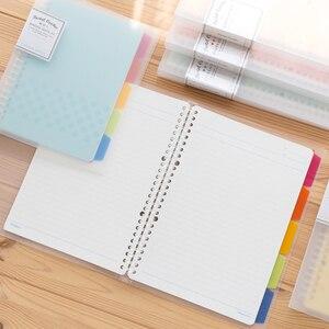 Image 5 - Kokuyo Notebook Pastel Cookie Stijl Persoonlijk Dagboek Planner Ringband Note Losbladige Memo Pad Dagelijkse Planner A4 A5 b5