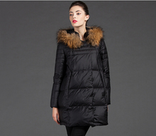 2016Korea Latest Women Fashion Winter Coat Hooded Fur collar Loose Duck down Down jacket Leisure Big yards Thick Warm Coat G2304