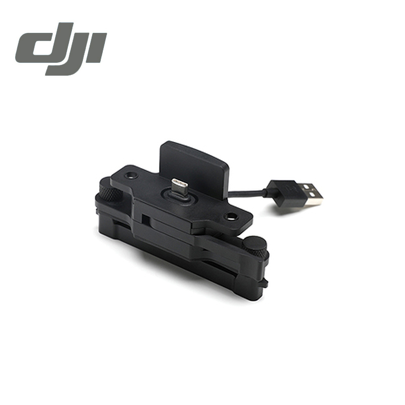 DJI CrystalSky Mavic/Spark Remote Controller Mounting Bracket ( CrystalSky Mount onto Mavic Pro Spark Remote Control ) Original remote controller transmitter storage box for dji spark mavic pro