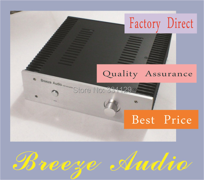 Breeze Audio width 320 mm height 90mm depth 300 mm small CLASS A aluminum chassis 320