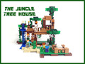 LEPIN 18003 my world series The Jungle Tree House model Building Blocks set compatible original 21125 My world Toys for children