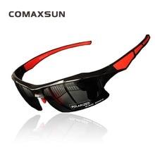 цена на COMAXSUN Polarized Cycling Glasses Professional Bike Eyewear  Bicycle Goggles Outdoor Sports Sunglasses UV 400 STS302R